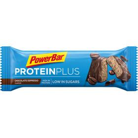 PowerBar ProteinPlus Bar Caja 30x35g, Chocolate Espresso